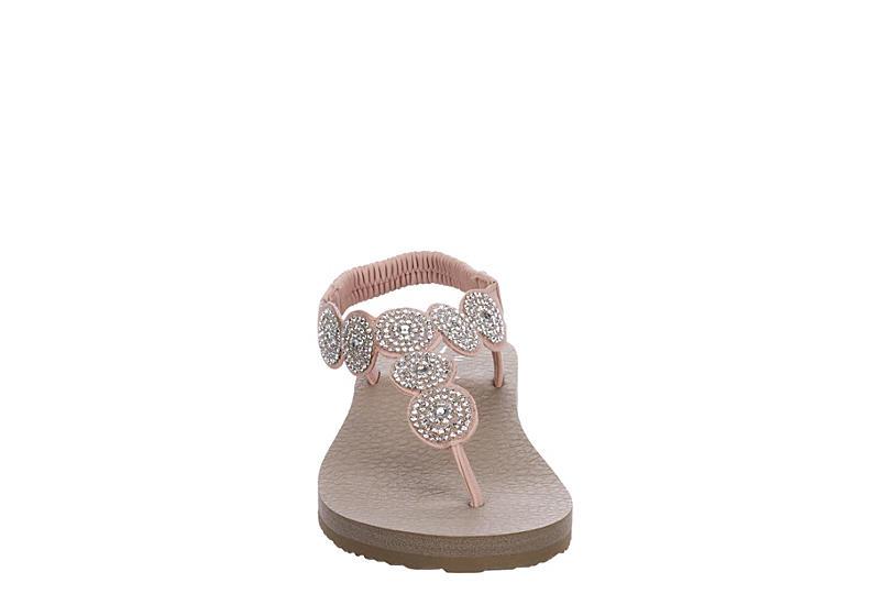 SKECHERS CALI Womens Stars  Sparkle Sandal - BLUSH
