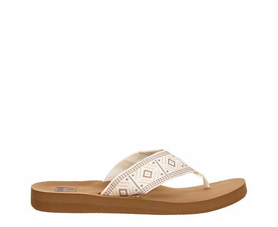 Womens Spring Woven Flip Flop Sandal