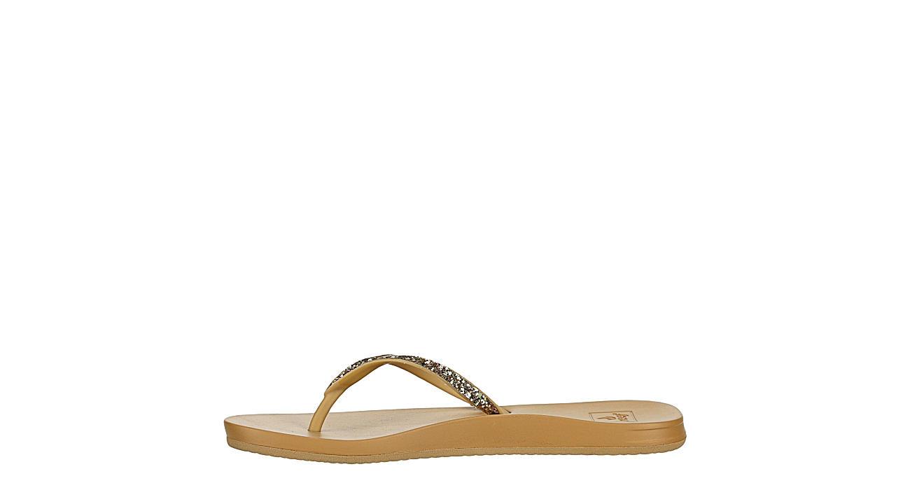 REEF Womens Stargazer Flip Flop Sandal - TAN