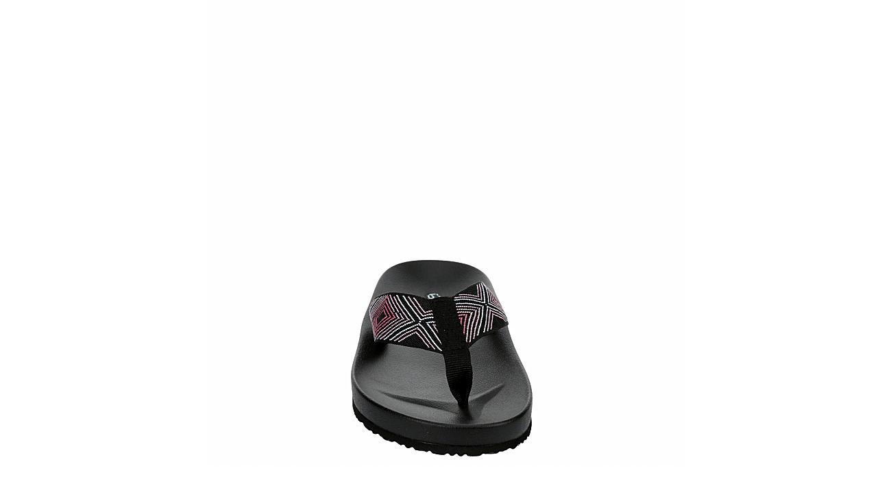 BLUEFIN Womens Destin Flip Flop Sandal - MULTICOLOR
