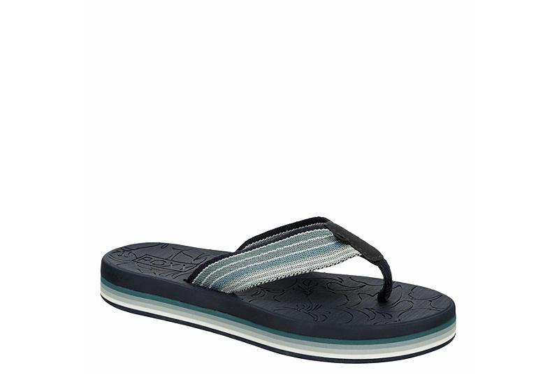 ROXY Womens Gianna Hi Flip Flop Sandal - NAVY