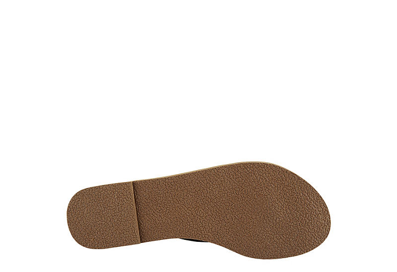 BLUEFIN Womens Hamlyn Flip Flop Sandal - BLACK