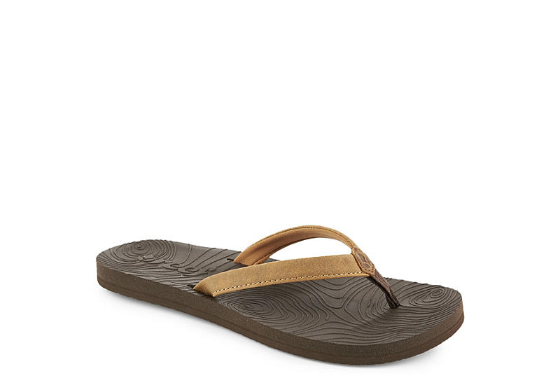 REEF Womens Reef Zen Love - BROWN