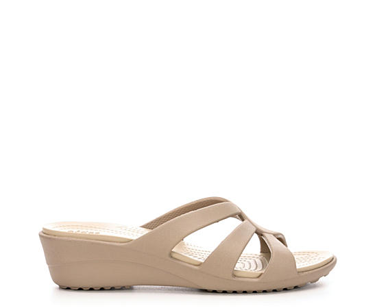 Womens Sanrah Strappy Wedge