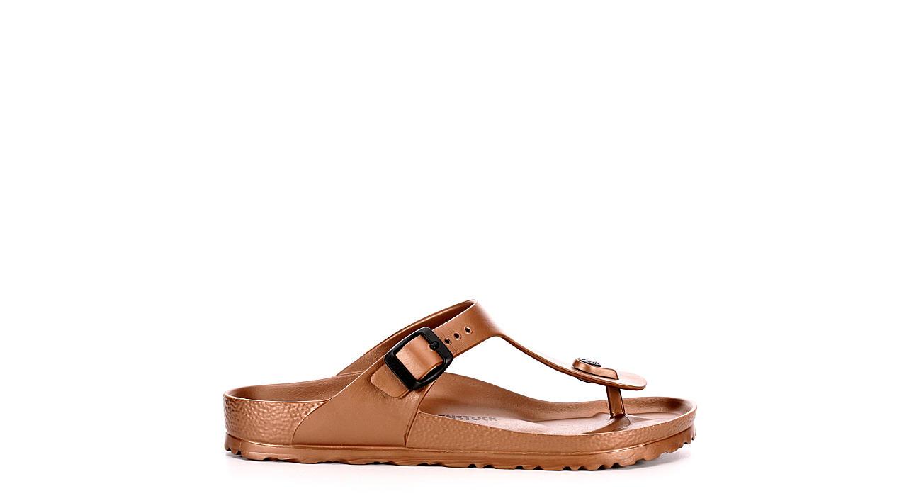 BIRKENSTOCK Womens Gizeh Essentials Flip Flop Sandal - BRONZE