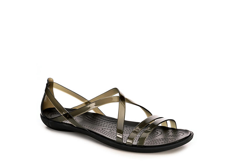 Crocs Womens Isabella Strappy Sandal. $39.99. BLACK