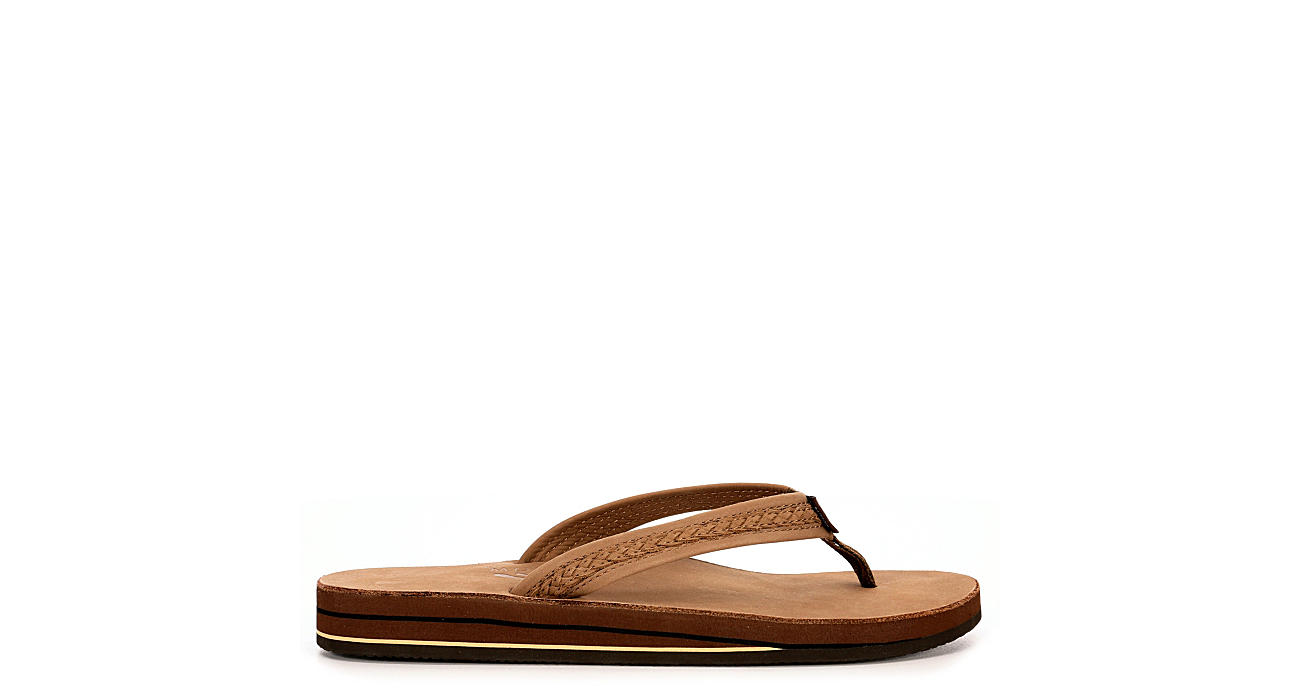 RAINBOW SANDALS Womens Willow - DARK BROWN