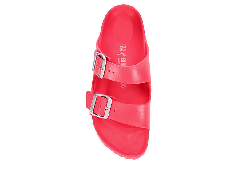 BIRKENSTOCK Womens Arizona Essentials Slide Sandal - CORAL