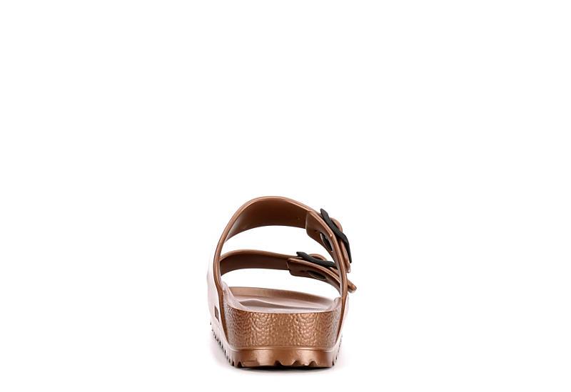 BIRKENSTOCK Womens Arizona Essentials Slide Sandal - BRONZE