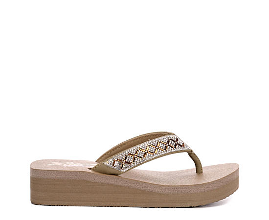 Womens Lotus Princess Flip Flop Sandal