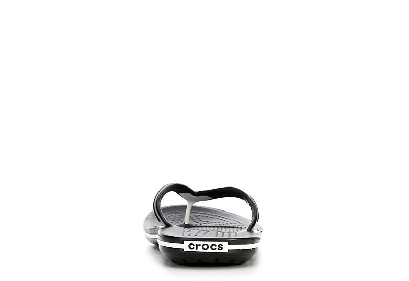 CROCS Womens Crocband Flip - BLACK