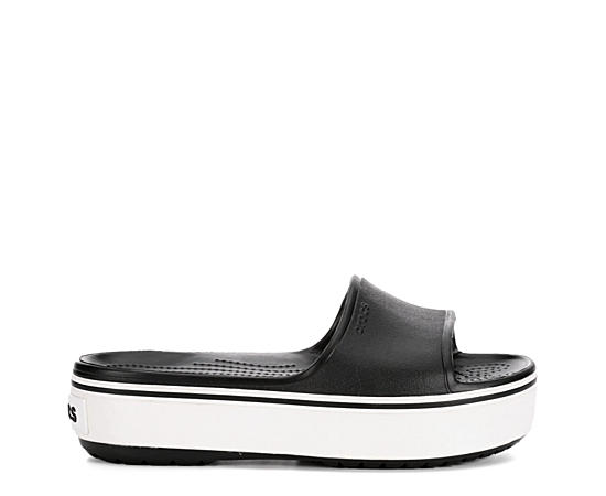 Womens Crocband Platform Slide