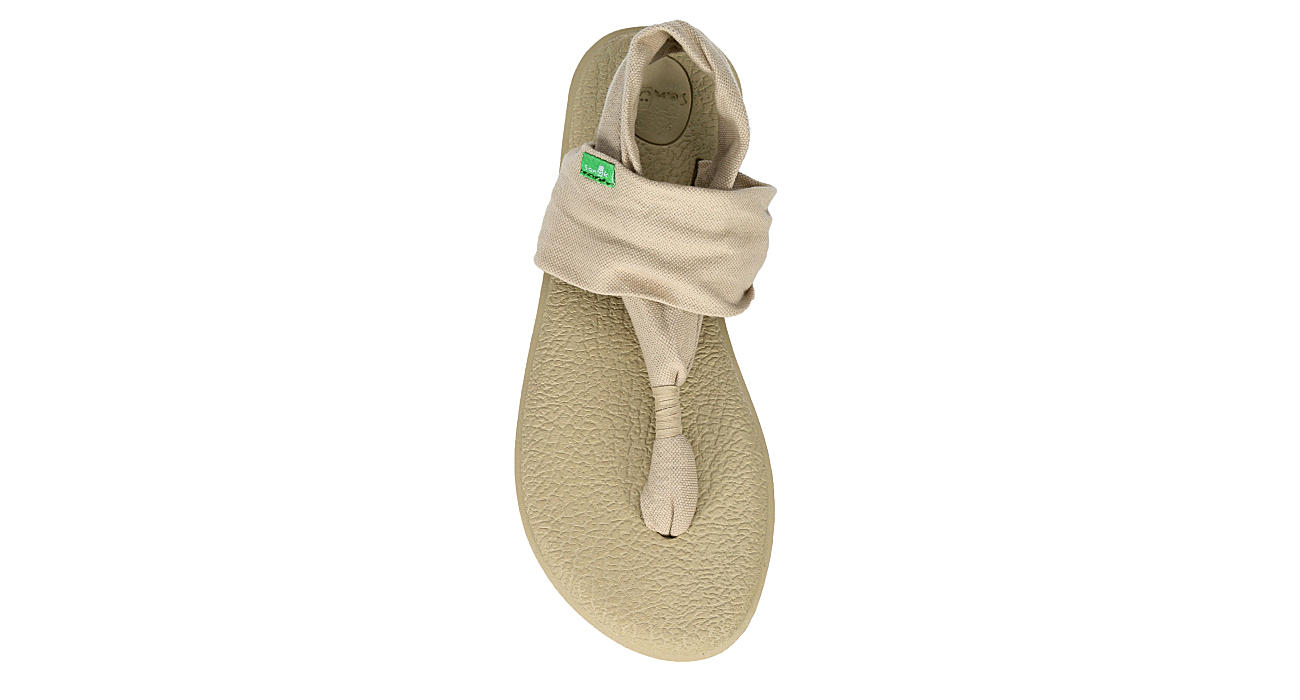 SANUK Womens Yoga Sling 2 Sandal - NATURAL