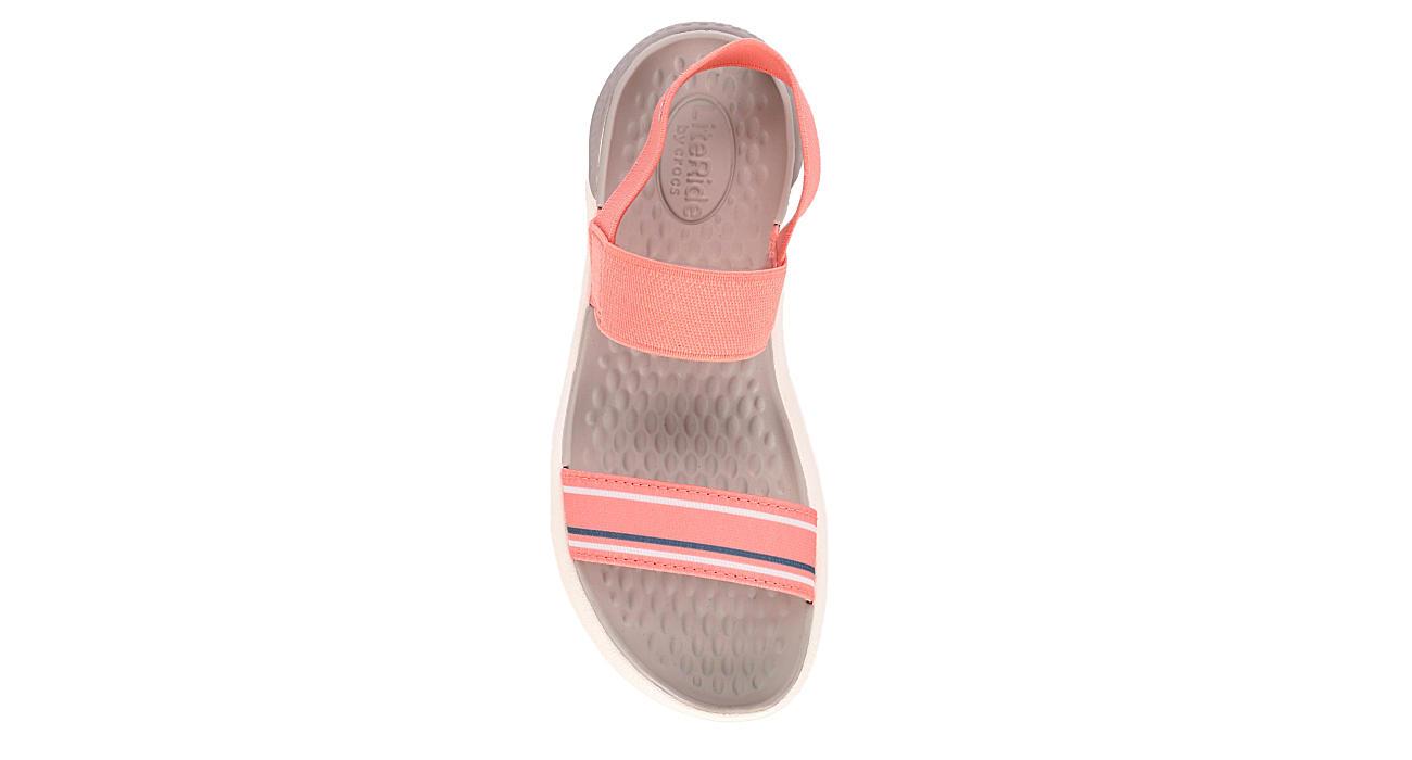 CROCS Womens Literide Sandal - CORAL
