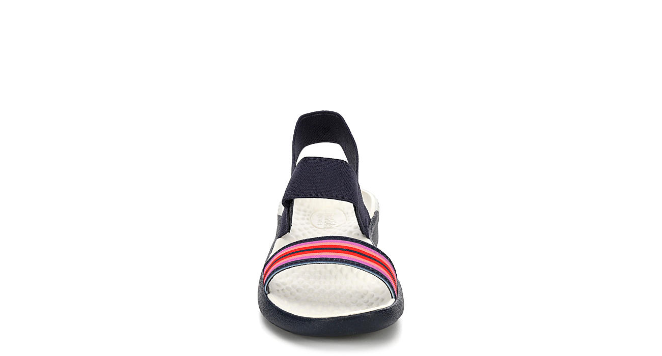 CROCS Womens Literide Sandal - NAVY