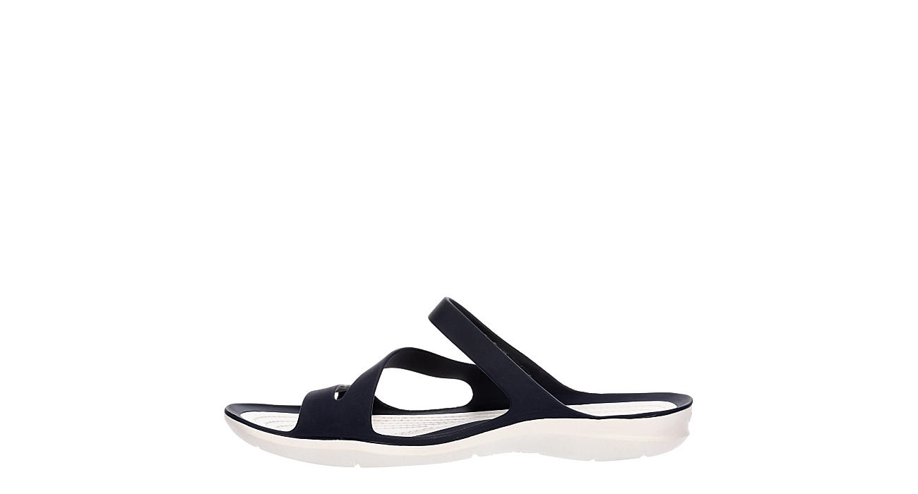 CROCS Womens Swiftwater Slide Sandal - NAVY