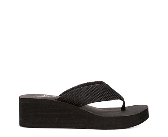 Womens Gabby Wedge Flip Flop Sandal