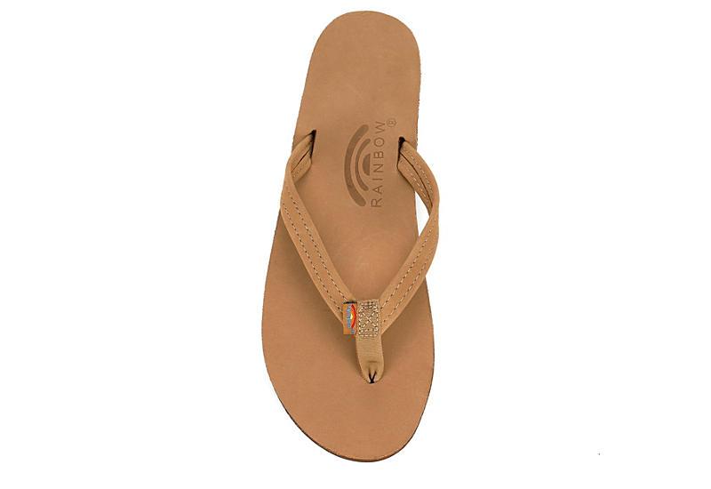 RAINBOW SANDALS Womens 301altsn Flip Flop Sandal - TAN