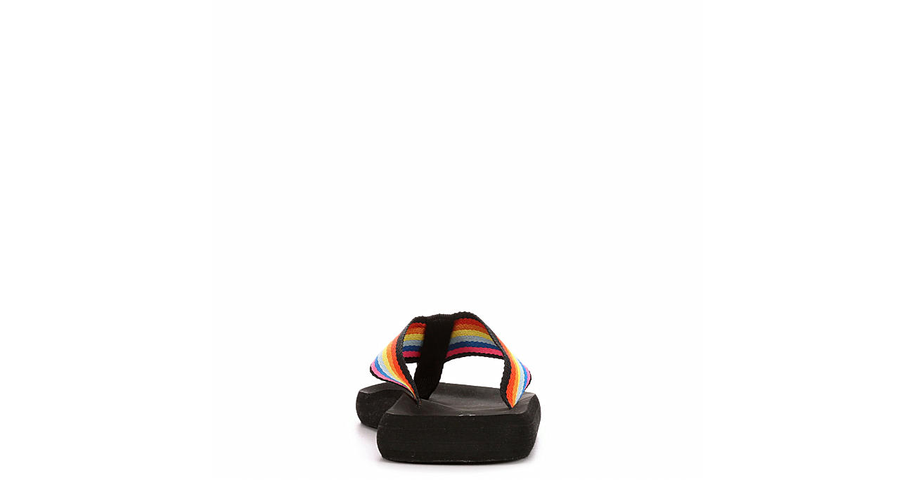 BLUEFIN Womens Sunshine Flip Flop Sandal - MULTICOLOR