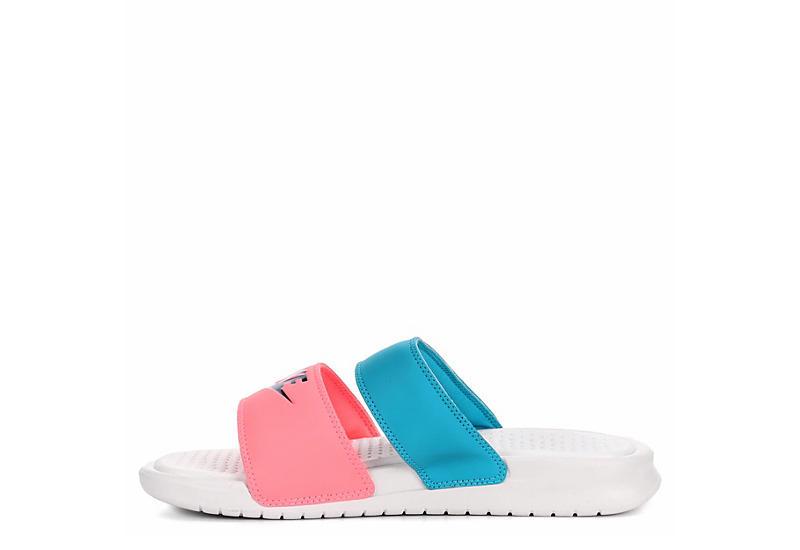 NIKE Womens Benassi Duo Ultra Slide - PINK