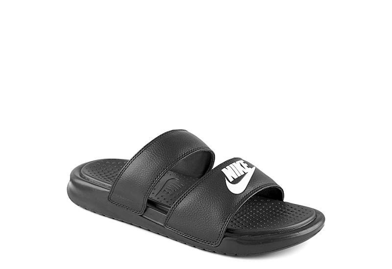 newest e4546 4adfe Black Nike Womens Benassi Duo Ultra Slide   Slides   Rack Room Shoes