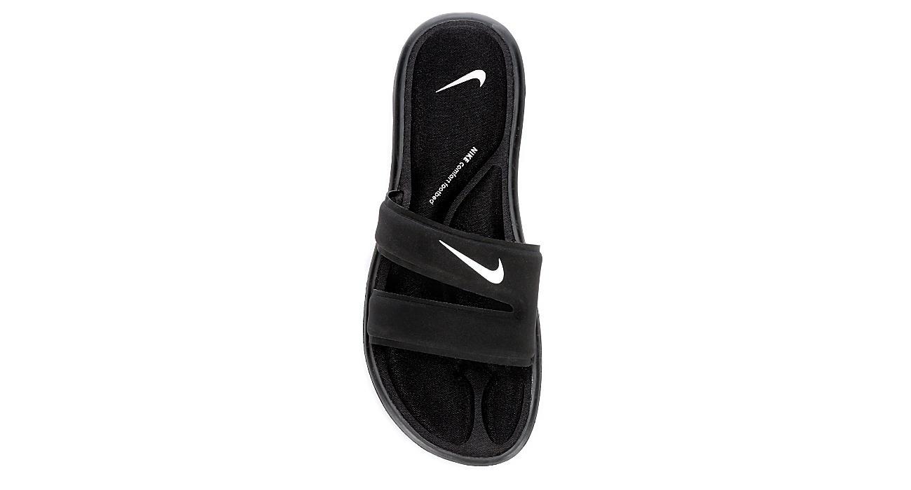 48b16acc5125 Nike Womens Ultra Comfort Slide - Black