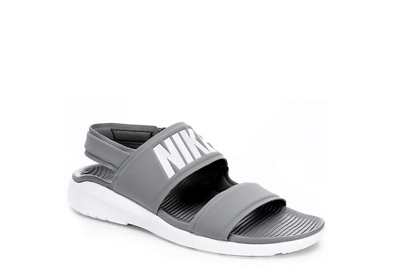 12b2e210f Grey Nike Tanjun Women s Sandals