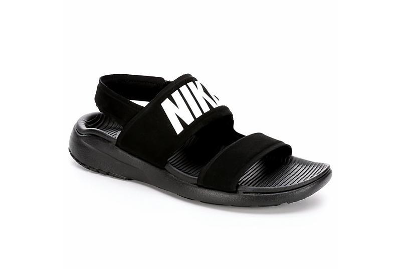 b9ed3a7502b0 Black Nike Tanjun Women s Sport Sandals