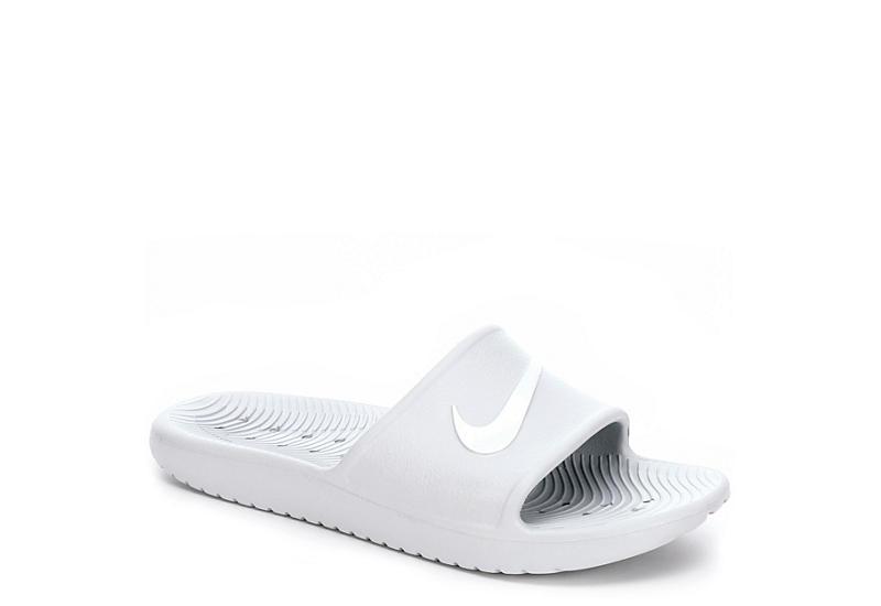 8d82bba5349a Platinum Nike Kawa Shower Women s Slides