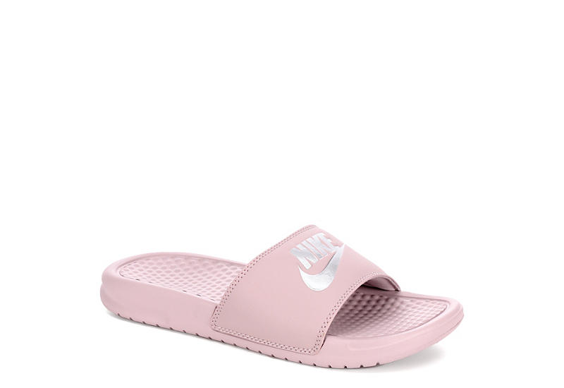 Pink Nike Benassi JDI Women s Slides  06e95d4347