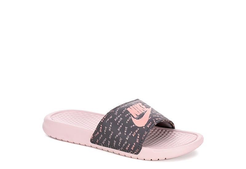 ec16b086b Blush Nike Womens Benassi Jdi | Sandals | Rack Room Shoes