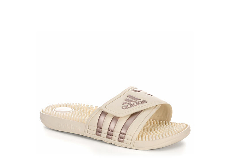 Adidas Womens Adissage - Off White f22dd29c8