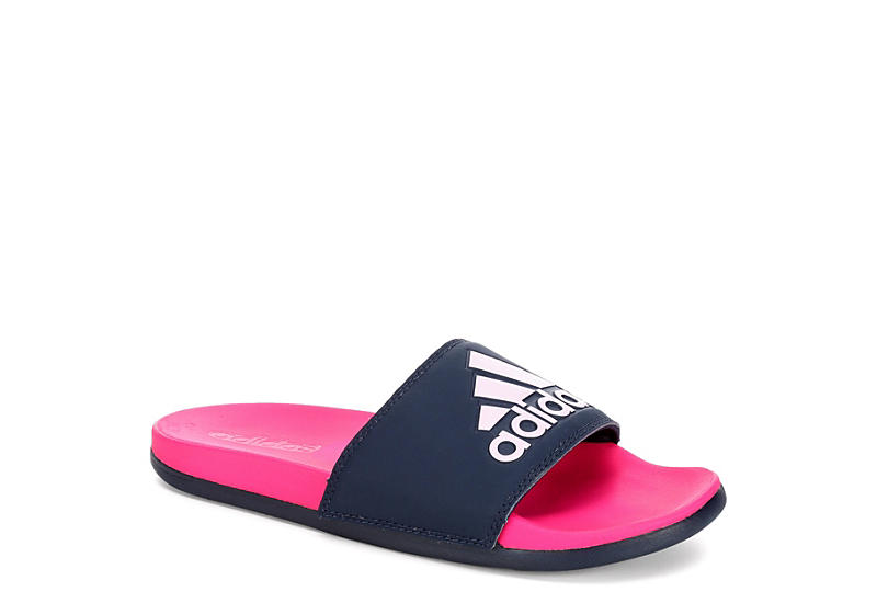 16b616b1fd7 Pink   Black adidas Adilette Women s Slides