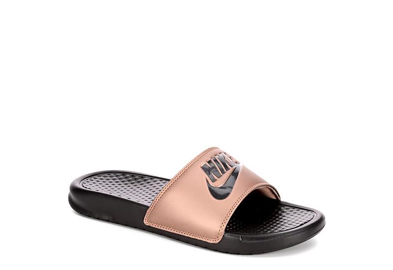 separation shoes 15f77 46cc5 BRONZE NIKE Womens Benassi Jdi