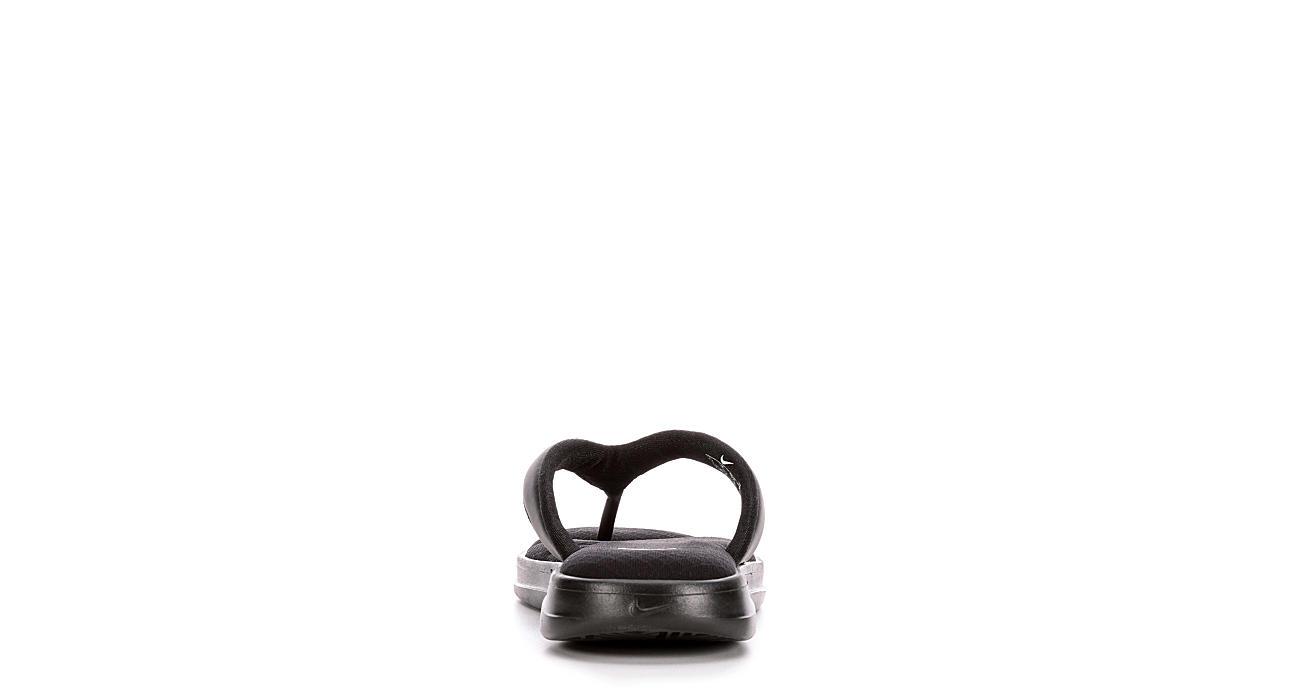 NIKE Womens Ultra Comfort Thong - BLACK