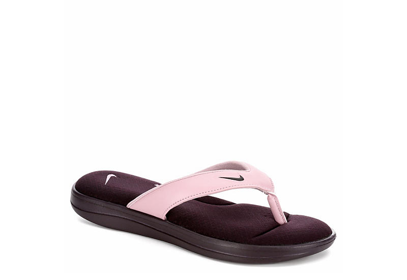 NIKE Womens Ultra Comfort Thong - PINK
