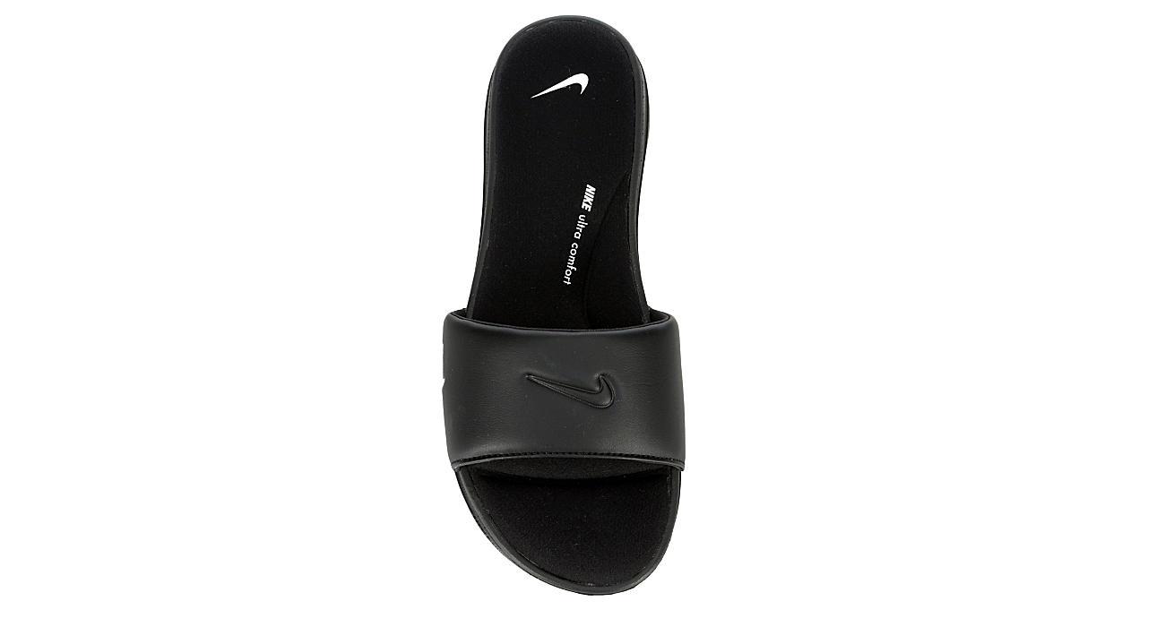 NIKE Womens Ultra Comfort 3 Slide - BLACK