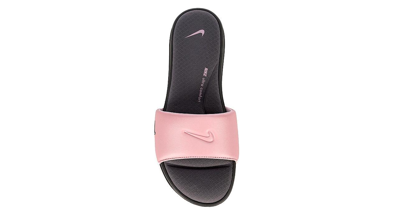 online store 34a6d 51e92 Nike Womens Ultra Comfort 3 Slide - Pink