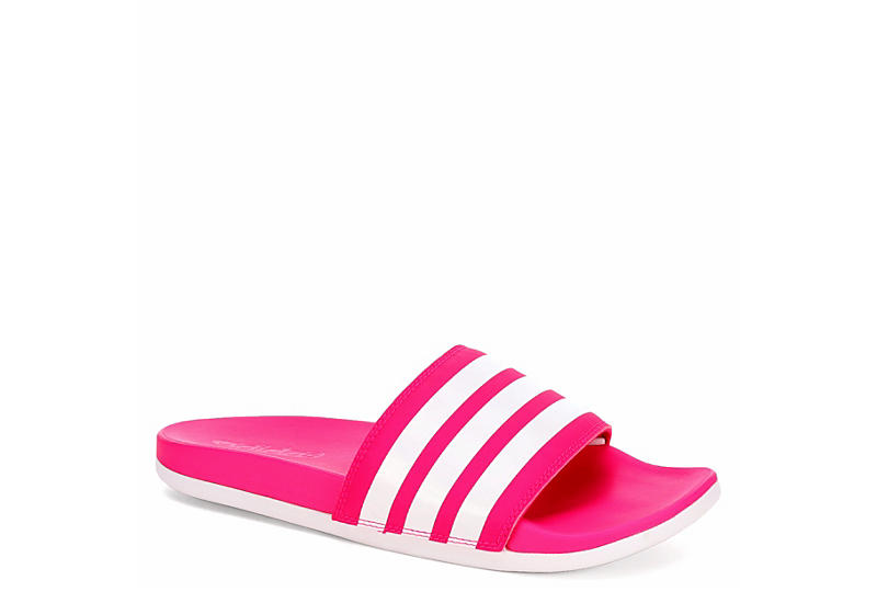 huge selection of 484b6 c1c10 Adidas Womens Adilette Comfort - Pink