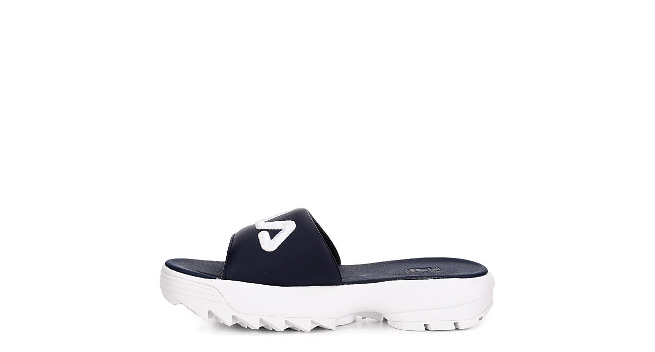 FILA Womens Disruptor Bold Slide - NAVY
