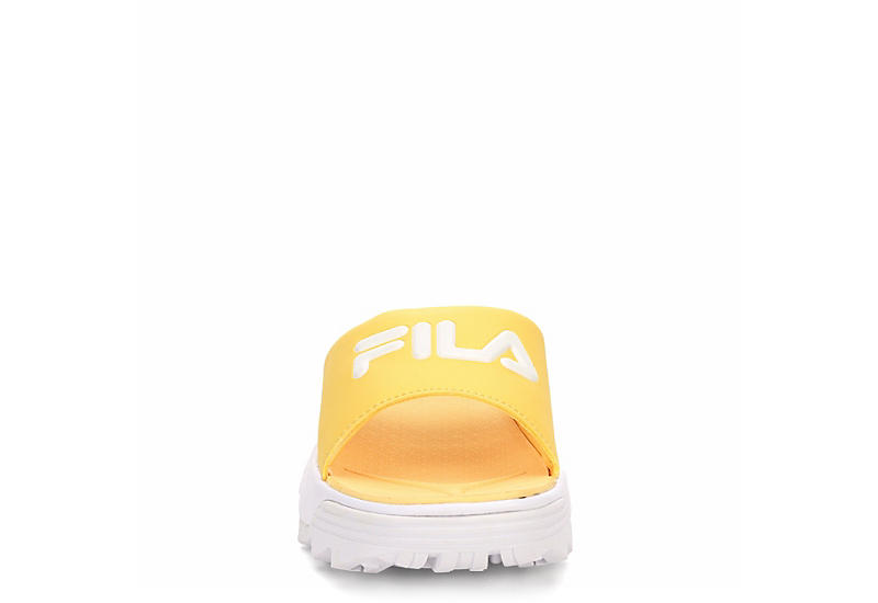FILA Womens Disruptor Bold Slide - YELLOW