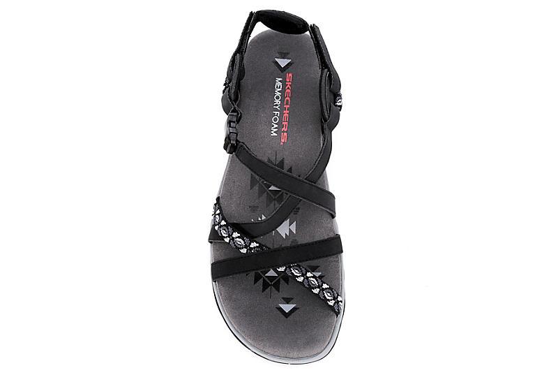 SKECHERS Womens Vacay Outdoor Sandal - BLACK