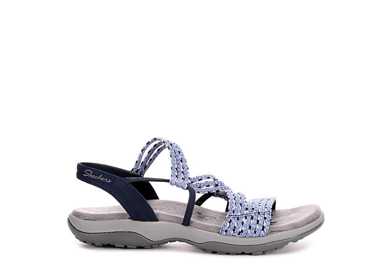 SKECHERS Womens Stretch Appeal Outdoor Sandal - NAVY
