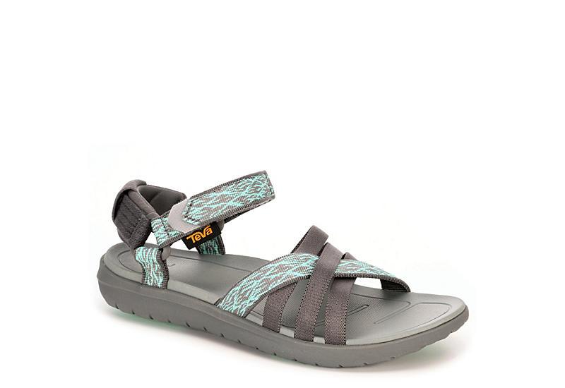 909030856 Grey Teva Womens Sanborn Sandal
