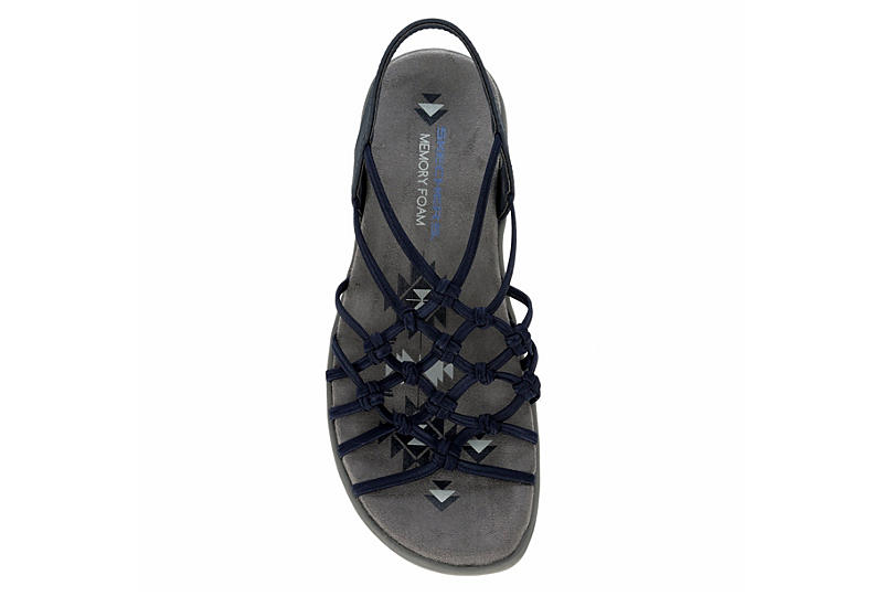 SKECHERS Womens Forget Me Knot Outdoor Sandal - NAVY