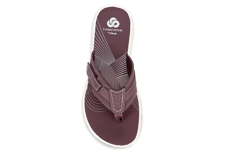 CLARKS Womens Brinkley Reef - PURPLE