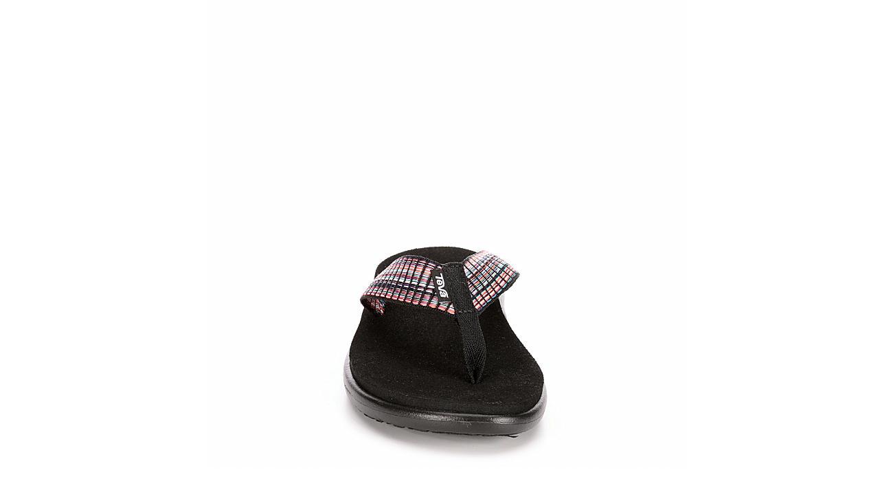 TEVA Womens Voya Flip Flop Sandal - MULTICOLOR