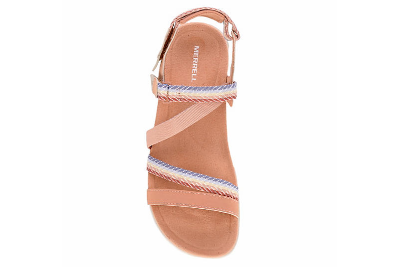 MERRELL Womens Mendi Outdoor Sandal - BLUSH
