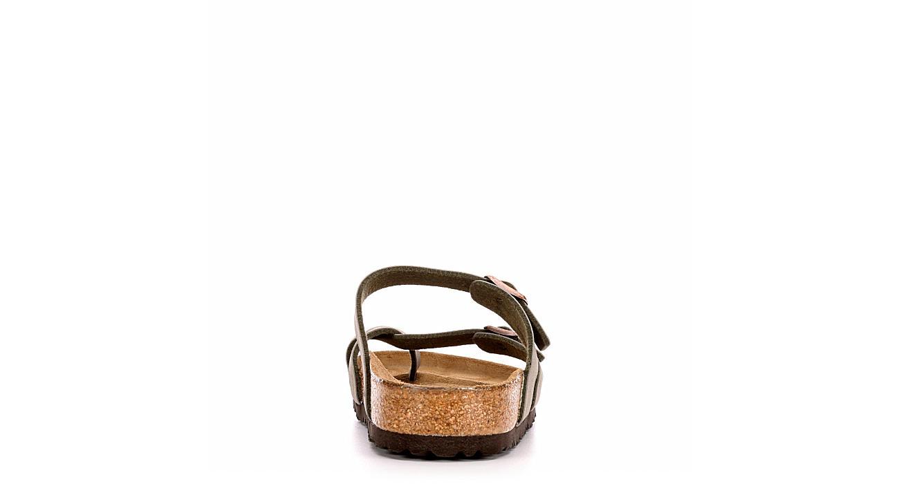 BIRKENSTOCK Womens Mayari Footbed Sandal - STONE