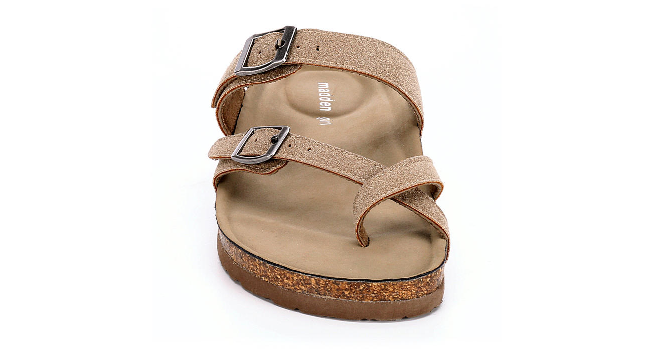 Taupe Madden Girl Womens Bryceee Sandals Rack Room Shoes